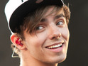 Nathan Sykes performs with The Wanted
