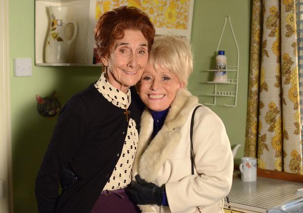 June Brown and Barbara Windsor
