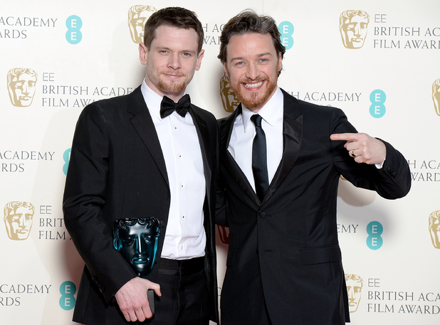 James McAvoy and Jack O'Connell