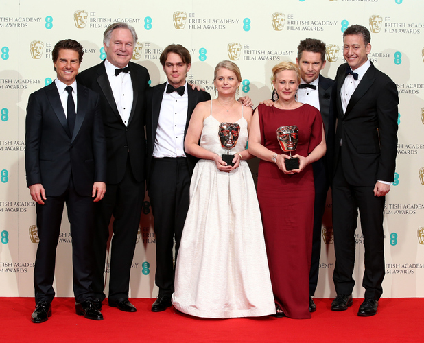 Boyhood and Tom Cruise at the BAFTAs