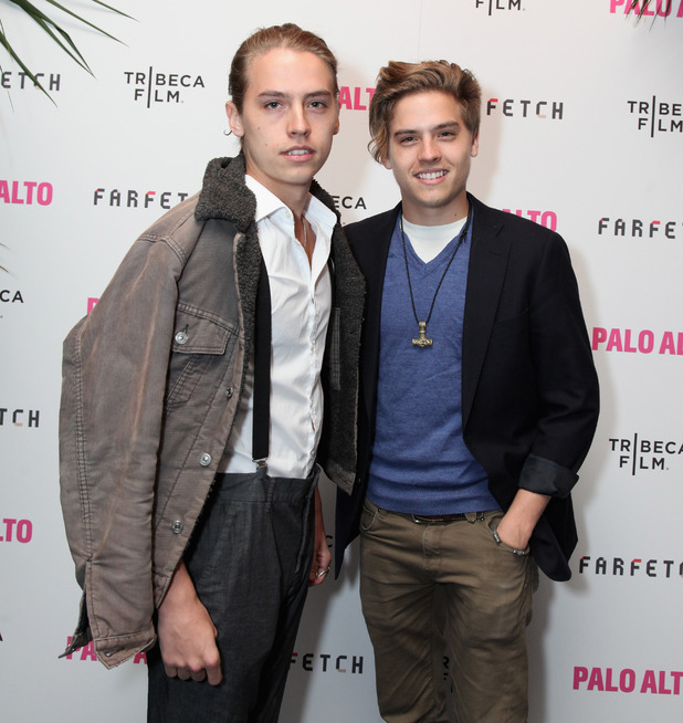NEW YORK  NY - APRIL 24   L-R Dylan and Cole Sprouse attend The 2014    Dylan And Cole Sprouse Then And Now 2014