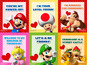 Nintendo launch gaming Valentine's cards