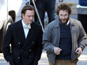 Michael Fassbender and Seth Rogen play Apple pioneers in biopic Steve Jobs.