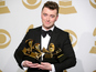 Smith 'monumentally hungover' after Grammys