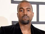 Kanye West & Kim Kardashian arriving at the 57th Annual Grammy Awards