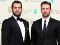 Captain America and Superman meet and Kasabian baffle at the BAFTAs.