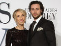 Sam Taylor-Johnson and Aaron Taylor-Johnson attend the UK Premiere of Fifty Shades Of Grey