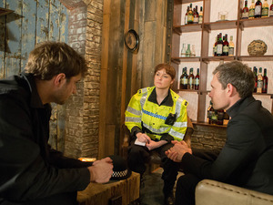 The police quiz Andy and assure Nick they will investigate the mugging.