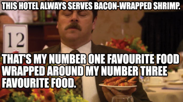 Parks and Recreation: 12 of the best Ron Swanson quotes ...  Ron Swanson Quotes Salad