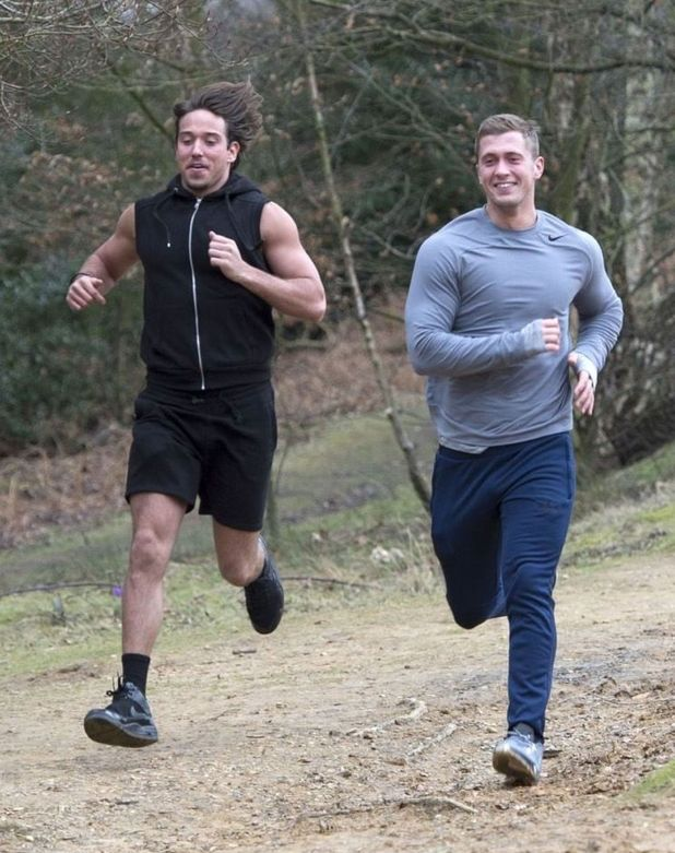 'The Only Way is Essex' cast filming, Epping Forest, Essex, Britain - 19 Feb 2015James Lock and Dan Osborne 19 Feb 2015
