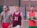 The band play a disastrous basketball match in the visuals for their new single.