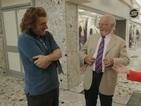 Michael Sheen pranks his parents on CBBC's Cinemaniacs