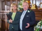 Will Gavin's arrival spoil Gail and Michael's big day?