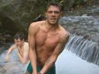 See Max George have a bath in new Bear Grylls: Mission Survive photos