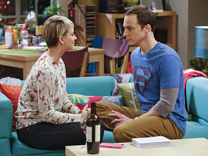 Sheldon and Penny ponder whether they could actually fall in love this week.