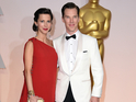 Benedict Cumberbatch and new wife Sophie Hunter at the Oscars