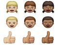 OS X beta update adds five skin tones and moves away from derided stereotypes.