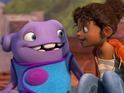 The animation starring Rihanna and Jim Parsons earns $54m in its first weekend.