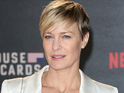 """Thank God gender equality is finally being talked about,"" the House of Cards star says."