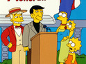 Phil Hartman and Leonard Nimoy in The Simpsons: 'Marge Vs. The Monorail'
