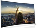 Japanese firm's curved TVs feature 4K LED Wide Color Phosphor panels.