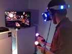 Hands-on with the latest virtual reality headset reveals fun new ways to interact with games.