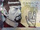 Live long and doodle: 'Spocking' banknotes is rife in Canada
