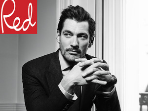 David Gandy in Red's April '15 issue