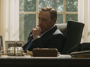 Kevin Spacey in House of Cards season 3