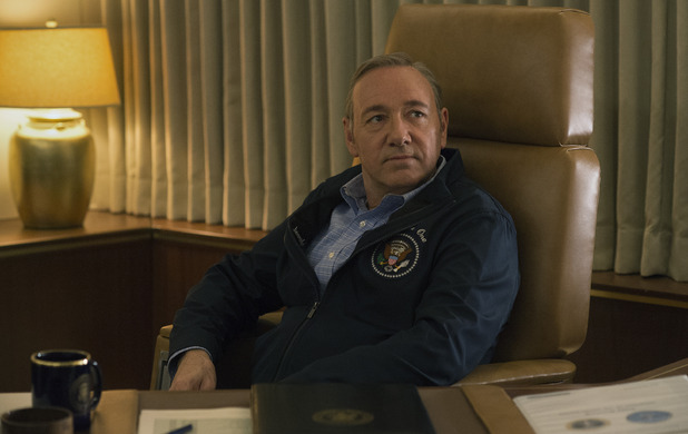 Kevin Spacey in House of Cards S03E12