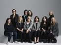 The cast & crew of Suffragette pose together for International Women's Day