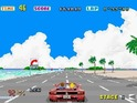 The racer began operating as the fourth entry in Sega's 'physical experience' series.