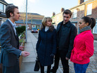 Gail feels the pressure as David furiously confronts her.