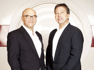 Gregg Wallace and John Torode on Masterchef