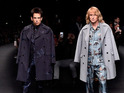 Ben Stiller and Owen Wilson announce Zoolander 2 during Valentino's show in Paris.