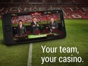 bwin Manchester United Casino sees fans gamble alongside virtual Wayne Rooney.