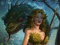 The artist reveals a new Biblical-themed project, Eve and the Garden of Eden.