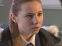 Peri is shocked by Tom's latest behaviour in Monday's E4 first look episode.