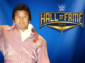 The Japanese wrestler joins the WWE Hall of Fame Class of 2015.