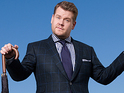 James Corden hosts The Late Late Show live from a randomly selected US home.
