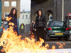 EastEnders spoiler pictures: Kat Moon burns Harry's money