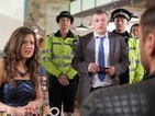 Hollyoaks spoiler pictures: Freddie and Lindsey to be arrested