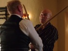 See Patrick Stewart snort drugs and sword fight in Blunt Talk trailer