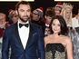 "Poldark's Aidan Turner ""not engaged"""