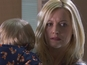 Hollyoaks pictures: Baby swap revealed