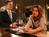 Nick insists Carla has dinner with him.