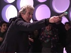 Peter Capaldi surprises fans at Doctor Who Experience