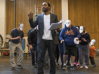 See Chiwetel Ejiofor prepare for stage return in Everyman rehearsals