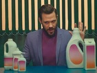 Will Young is a colourful salesman in 'Love Revolution' music video