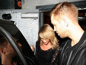 Taylor Swift & Calvin Harris seen leaving a concert together in Los Angeles